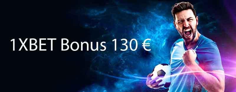 1xBet 130 euro bonus