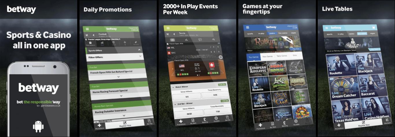 Betway app iOS