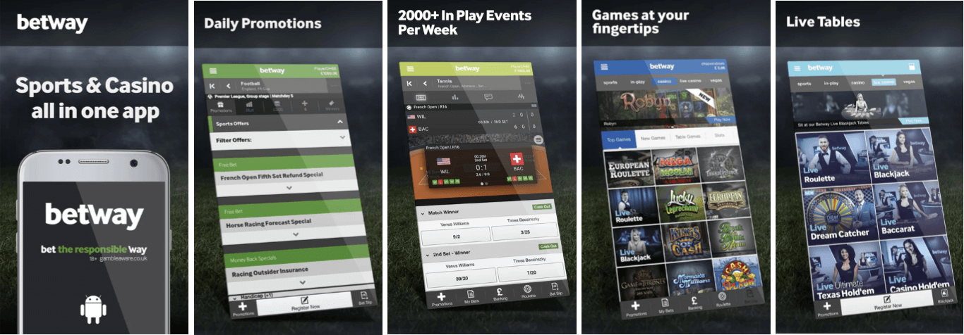 download Betway app Android