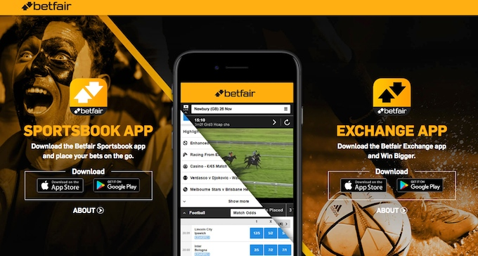 Betfair app Android download